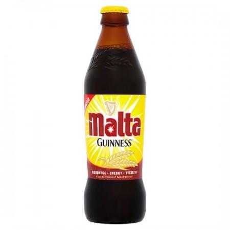 malta guinness bottle