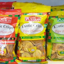 Asiko Exotic Plantain Crisps