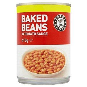 euroshopper baked beans 410g