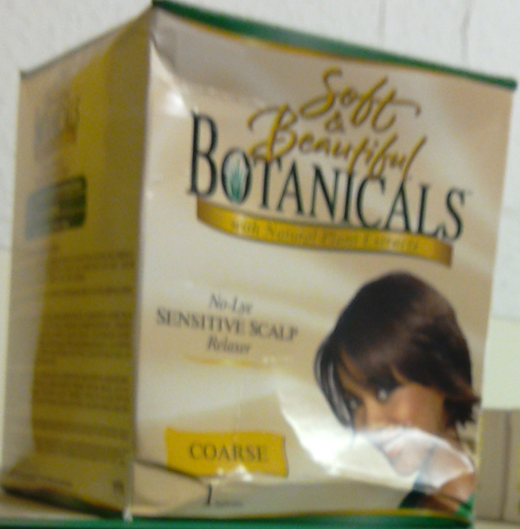 Soft and Beautiful Botanicals|Hair Texturizer|Relaxer|No Lye|