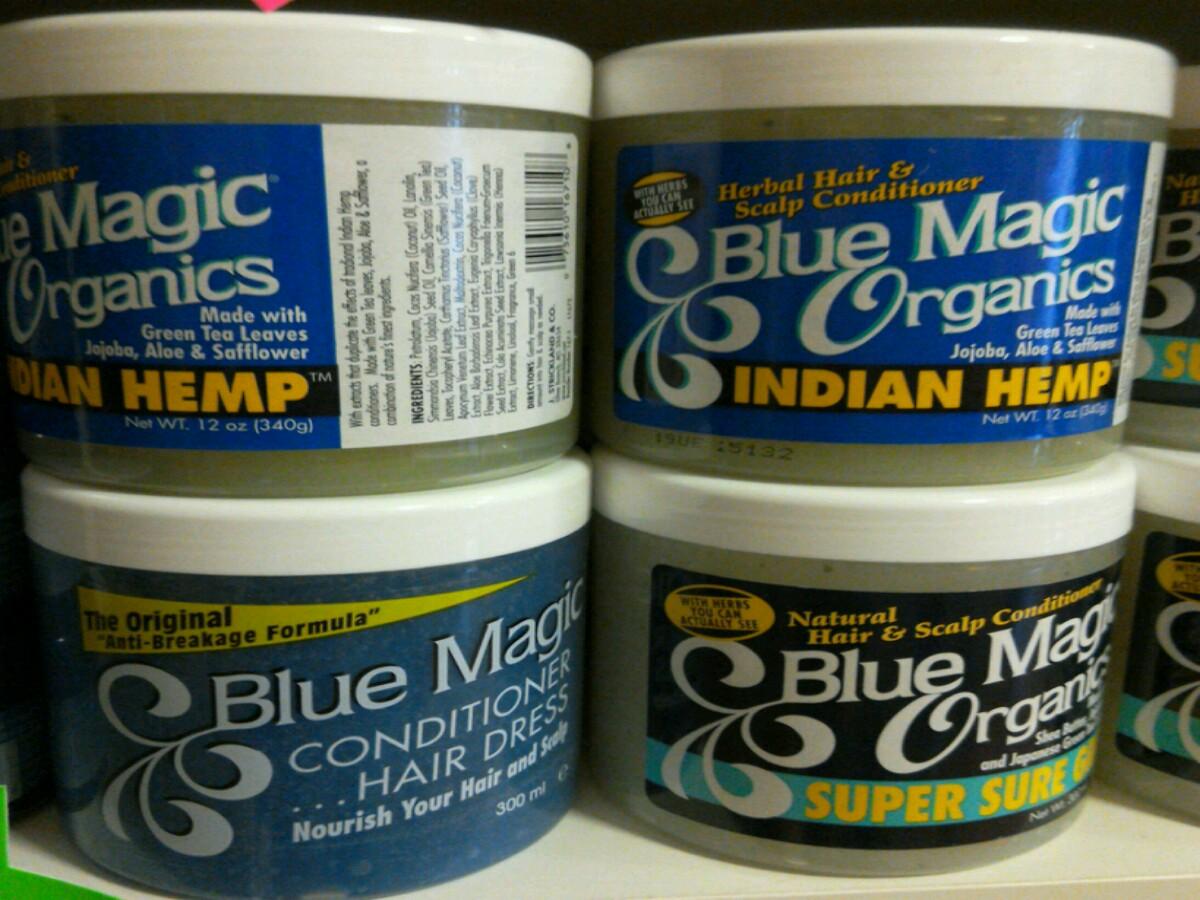 Blue Magic Hair Products