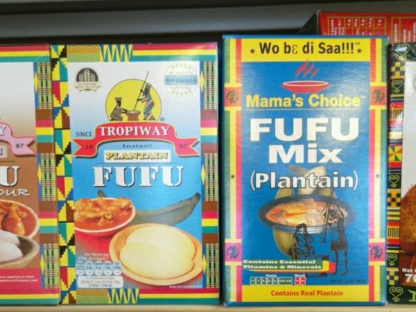 Mama's Choice fufu mix