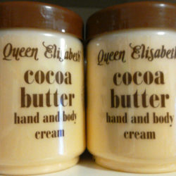 Queen Elisabeth cocoa-butter cream