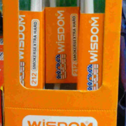Wisdom Smokers Extra Hard Toothbrush