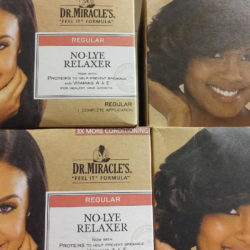 Dr Miracle's No-Lye Relaxer